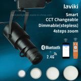 Control remoto inalámbrico RF 2.4G del zumbido del foco ajustable Spotlight las