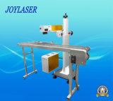 Поднимаясь тип машина маркировки лазера летания для бутылок или производственной линии
