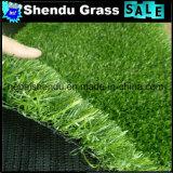 gras van het Gras van 25mm het Kunstmatige met Dubbele Steun