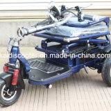中断との障害があるのための3車輪のFolableの電気スクーター