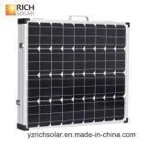 Afica와 중동에 있는 3개의 유연한 태양 전지판 Monocrystalline 210W 태양 세포 최신 판매