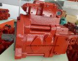 Única bomba hidráulica de K3V112S (2N00) para a mini máquina escavadora