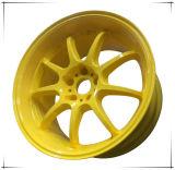 Желтое покрытие порошка с хорошим механически свойством