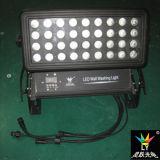 luz de inundação do diodo emissor de luz da cor 400W da cidade da lavagem da parede 36X10W