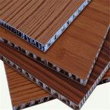 木パターン壁(HR71)のためのアルミニウム蜜蜂の巣のパネル