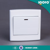 Interruttore chiaro elettrico britannico di modo 20A del gruppo 1 di standard D3020 1 di Igoto