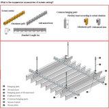 Het valse Plafond van het Scherm van het Aluminium met SGS en ISO9001