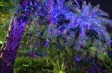 Red+Green + laser azul do jardim do movimento/cintilação Stars o laser