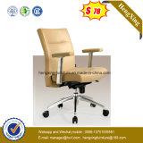 $68 hoher rückseitiger Brown lederner ergonomischer Büro-Stuhl (NS-BR002)