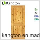 Porta de madeira do pinho (KD02B) (porta de madeira)