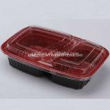 Scompartimento di plastica biodegradabile del contenitore di alimento di rettangolo 2 (SZ-A862)