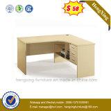 L classique meubles de bureau de forces de défense principale de Tableau de bureau de CEO de forme (NS-ND098)
