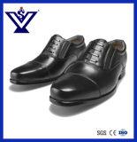 Офицер неподдельной кожи 100% обувает ботинки ботинок полиций вскользь (SYSG-424)