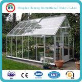 vidro desobstruído extra de vidro do ferro da casa verde de 3-19mm baixo