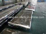 Hoja acanalada colorida del material para techos/hoja de acero galvanizada cubierta color
