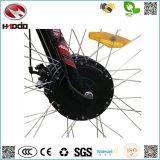 Triciclo eléctrico del neumático de la manera 48V 500W del cargo de la rueda gorda del triciclo tres con el pedal