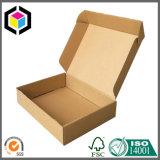 Sapatas do papel ondulado da alta qualidade que empacotam a caixa para o transporte