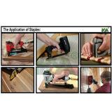 Штапеля серии Holzher c для толя и Furnituring