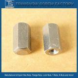 Longue noix Hex de Couoling galvanisée par DIN6334