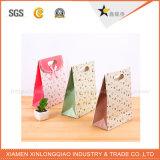 環境に優しい専門の紙袋ブラウン