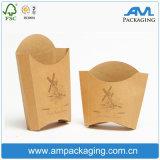 Boîte en gros bon marché faite sur commande à gâteau de papier de Brown emballage de catégorie comestible