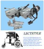Palanca de mando Silla de ruedas eléctrica de Transportes Médico Motor silla de ruedas