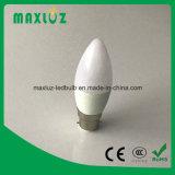Ampoule de bougie de B22 DEL avec 3W, 4W, 5W, 6W
