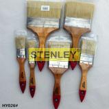 Ручка щетки краски деревянная точит шелк с щетинками
