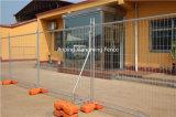Горячая окунутая гальванизированная временно загородка для рынка Австралии