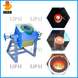 Máquina de fusión de la calefacción de inducción electromágnetica para el cobre de aluminio de acero