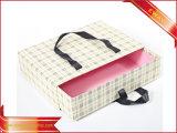 Caisse d'emballage de papier de bijou de cadeau de cadre de gâteau de sucrerie