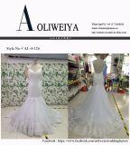Спагеттиа планок платье венчания Mermaid низко заднее