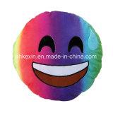 Het kleurrijke Hoofdkussen van Emoji van de Emotie van het Stuk speelgoed van de Pluche