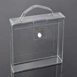 Коробка индикации PVC изготовленный на заказ ясности пластичная с кнопкой