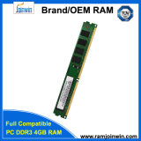 비 공장 Ecc Unbuffered 256mbx8 렘 DDR3 4GB 1333년