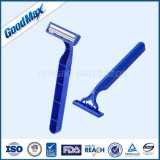 Neues Produkt-Zwilling-Schaufel-Wegwerfrasiermesser (SL-3028L)