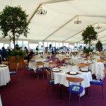 خيمة 500 الناس الأطراف السامية الذروة لحفل زفاف في نيجيريا 2