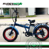 Faltendes unterer fetter Gummireifen-elektrisches Fahrrad