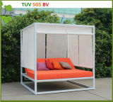 Salón de Sun al aire libre de los muebles de H-SGS con el amortiguador resistente de agua del 10cm
