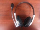 Cuffia avricolare stereo di riconoscimento della parola di VoIP del PC della cuffia della call center di Siroka