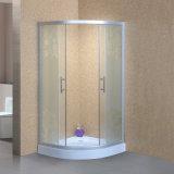 Com-Ce de vidro curvado do chuveiro Tempered, En12150