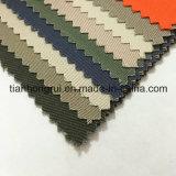 Tela de algodão tingida do Cambric da tela da cor do vermelho do cinza azul planície bem escolhida disponível
