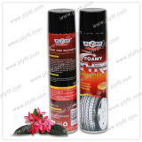 タイヤのクリーニングの輝やきの車輪は洗剤を更新する