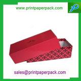 カスタム高品質の黒のペーパーギフト包装ボックス靴箱の服ボックス宝石箱
