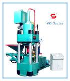 Máquina hidráulica de la prensa de enladrillar del serrín del metal Y83-360