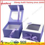 Scatola di cartone blu elegante per l'imballaggio delle estetiche