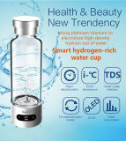 Botella de agua elegante del hidrógeno de Bluetooth del cuidado médico con la visualización de OLED