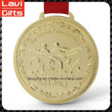 Crear la medalla corriente de Sprot para requisitos particulares del metal del oro