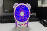 Little Bear LED Light Power Bank Hand Hold USB Fan