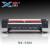 los 3.2m impresora del pigmento de la sublimación del tinte de materia textil de cuatro 5113 de impresión de la cabeza Digitaces del formato grande para Xuli